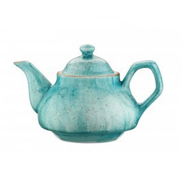 Rita Tea Pot 850 cc - Aqua Blue