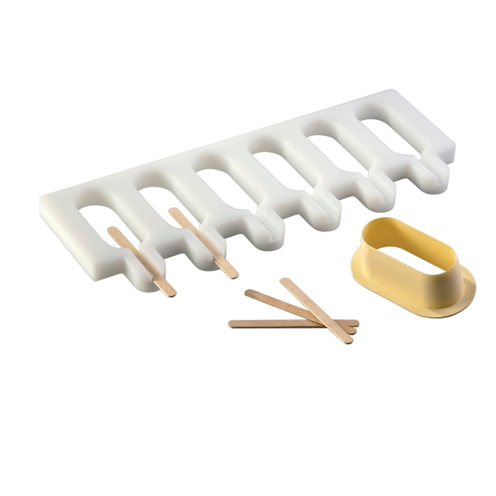 round ice lolly moulds 5 moulds icecream from. Black Bedroom Furniture Sets. Home Design Ideas