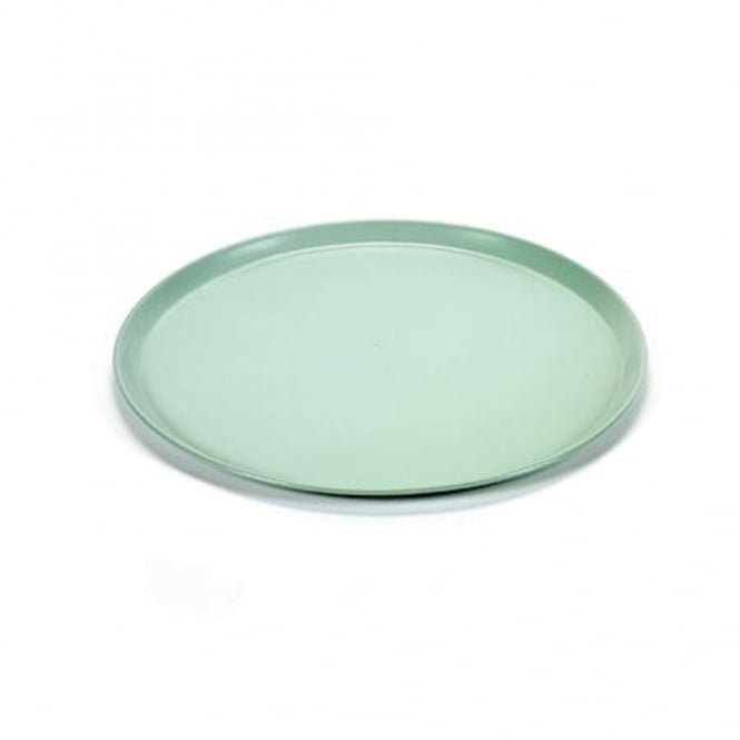 Round Tray Medium - Mint Green