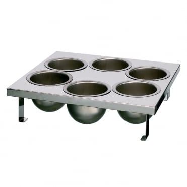 S/S 6 Removable Mould Tray 37x33.5cm