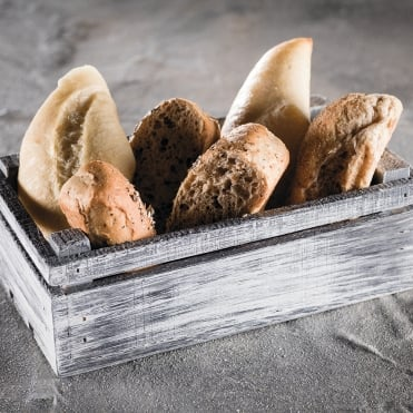Scandi Bread Crate 20x11.5x6cm(h)