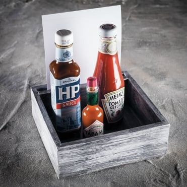 Scandi Condiment & Napkin Holder