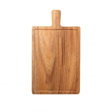 Serving Board with Groove 31x18x1.5cm