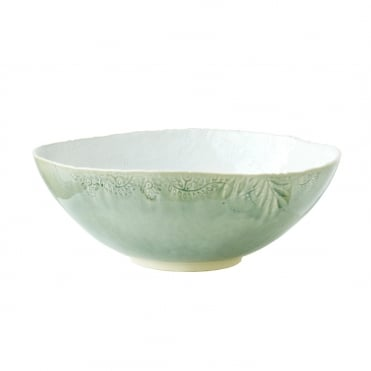 Serving Bowl 35cm- Antique/White