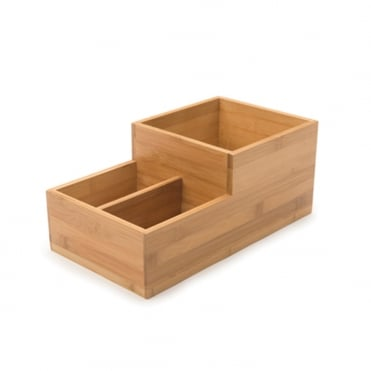 Small Condiment Tray Bamboo