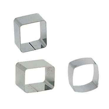 Small Rounded Square Ring 60x60x40mm
