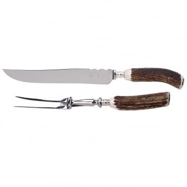 Stag Carving Knife and Fork