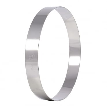 Stainless Steel Mousse Ring 120x45mm