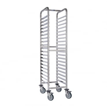 Stainless Steel Trolley GN 1/1