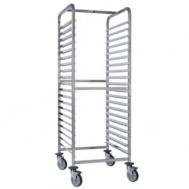 Stainless Steel Trolley GN 2/1