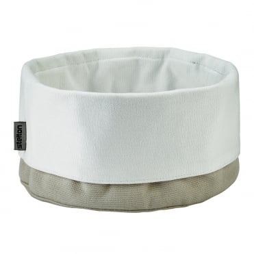 Stelton Bread Bag Sand/White 23x23cm