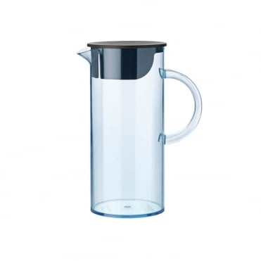 Stelton EM Water Jug with Lid 1.5L Blue