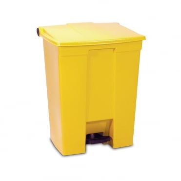 Step On Container 30.3L Yellow