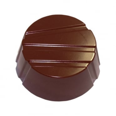 Striped Circle Chocolate Mould (28)