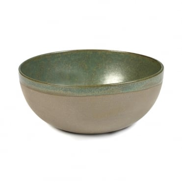 Surface Bowl Camo Green 19x8cm(h)