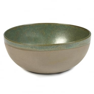 Surface Bowl Camo Green 23x9.5cm(h)