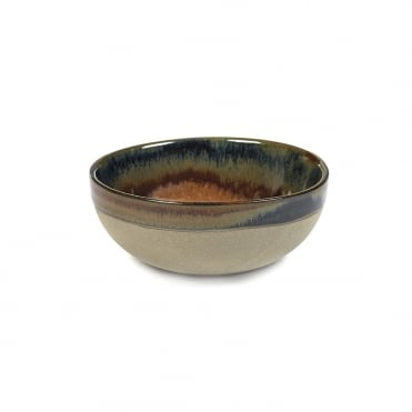 Surface Bowl Grey/ Rusty Brown 11x4.5cm