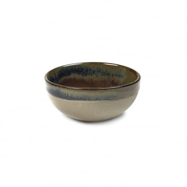 Surface Bowl Gris/ Rusty Brown 9x4cm(h)