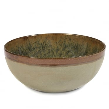 Surface Bowl Indi Grey 23x9.5cm(h)