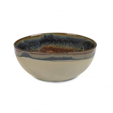 Surface Bowl Rusty Brown 15x6.5cm(h)
