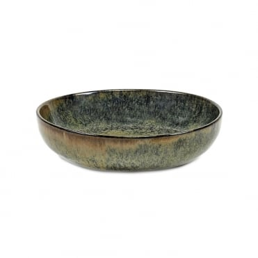 Surface Deep Plate Indi Grey 16x4cm(h)