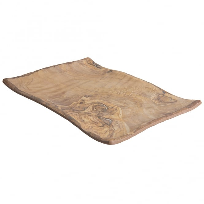 TRANSFORM Wood Grain Platter 40x27.5x3