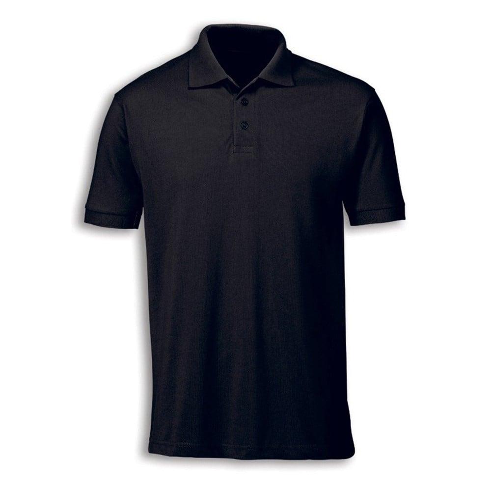 Unisex Black Polo Shirt - XL