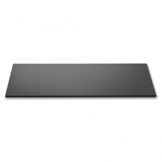ROSSETO SURFACES Wide Rectangle Black Glass